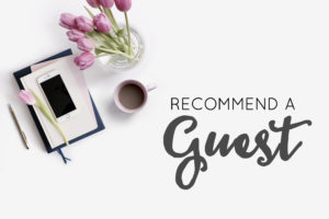 Recommend a Guest